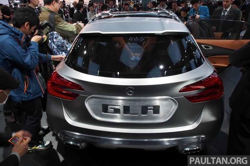 Shanghai 2013 Live: Mercedes-Benz Concept GLA Image #169880