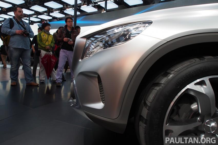 Shanghai 2013 Live: Mercedes-Benz Concept GLA Image #169883