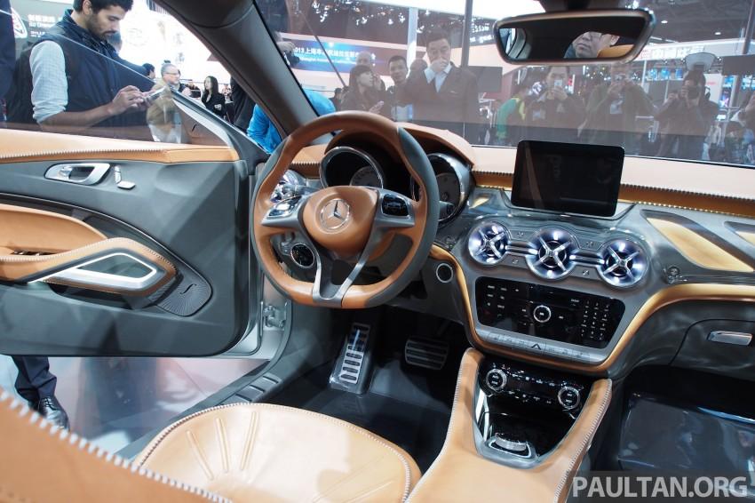 Shanghai 2013 Live: Mercedes-Benz Concept GLA Image #169876