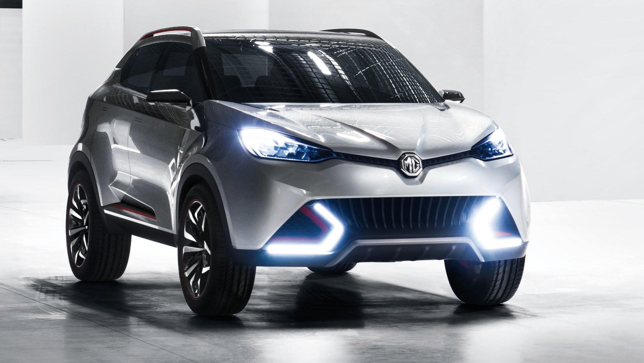 MG CS Concept SUV unveiled at Auto Shanghai 2013