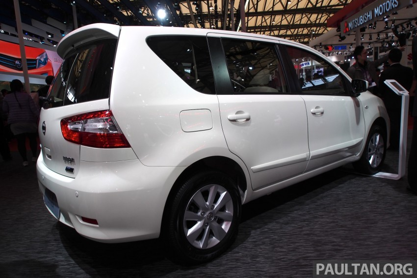 Nissan Livina Facelift – gallery from Auto Shanghai Image #171338
