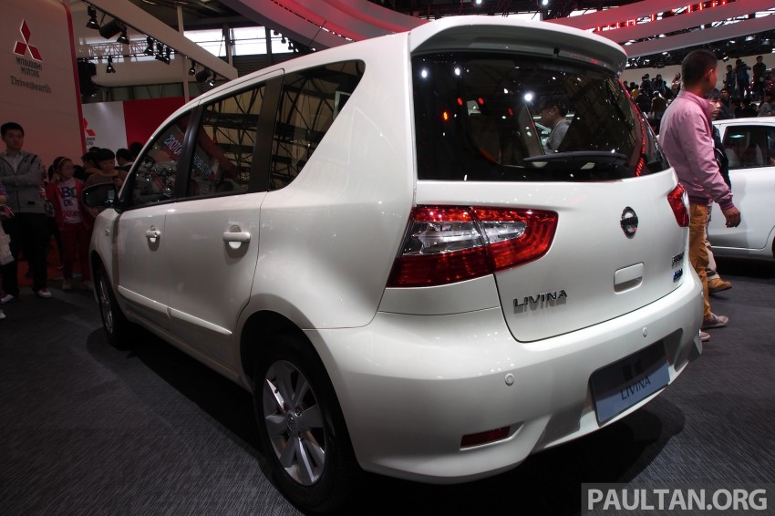 Nissan Livina Facelift – gallery from Auto Shanghai Image #171339