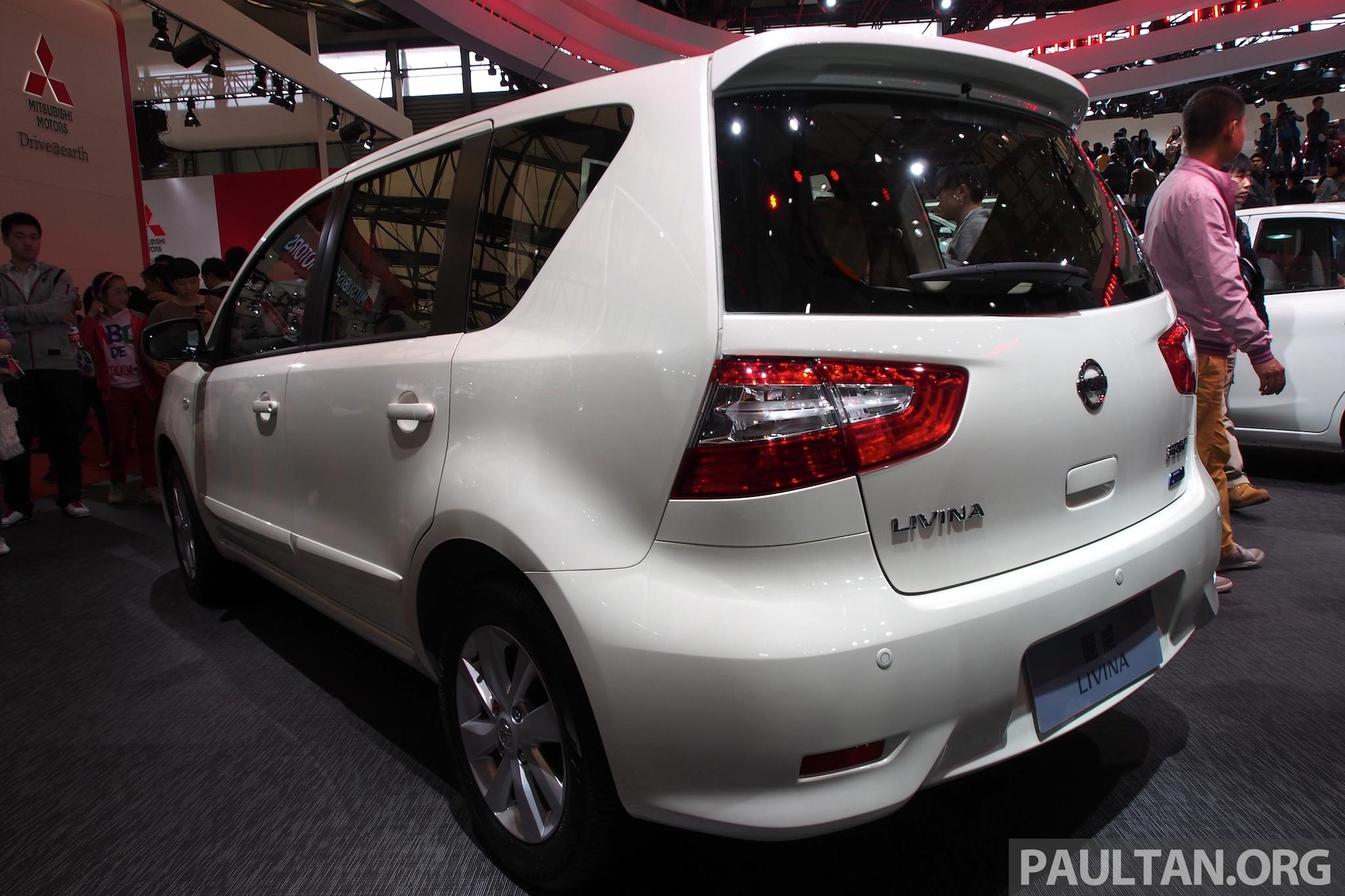 Nissan Livina Facelift 2014 | Autos Weblog