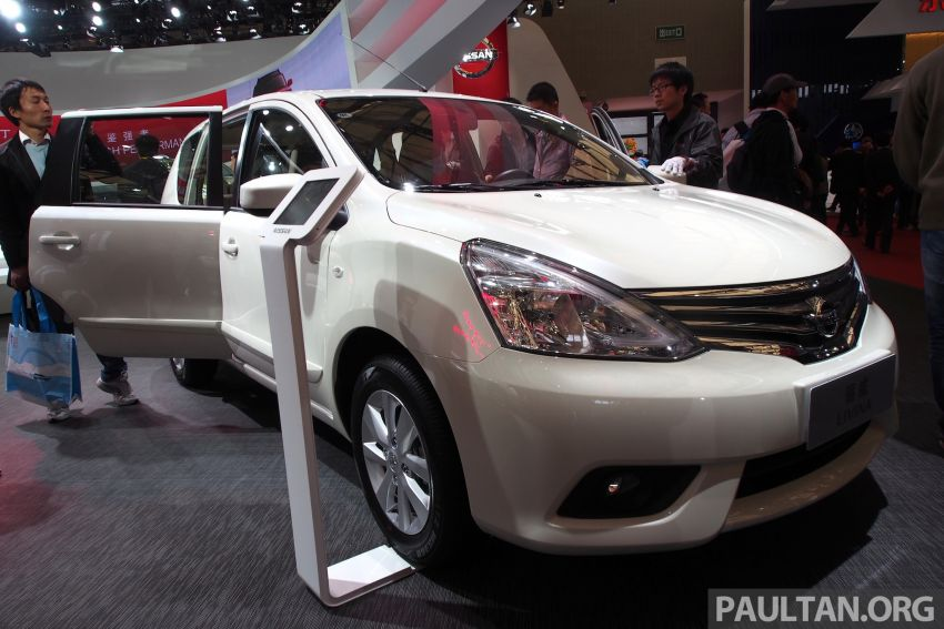 Nissan Livina Facelift – gallery from Auto Shanghai Image #171341