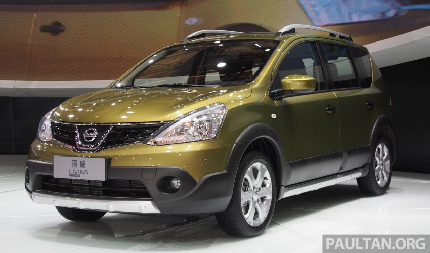Nissan Livina Facelift – gallery from Auto Shanghai Image #171370