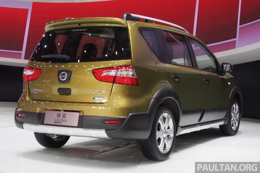 Nissan Livina Facelift – gallery from Auto Shanghai Image #171373