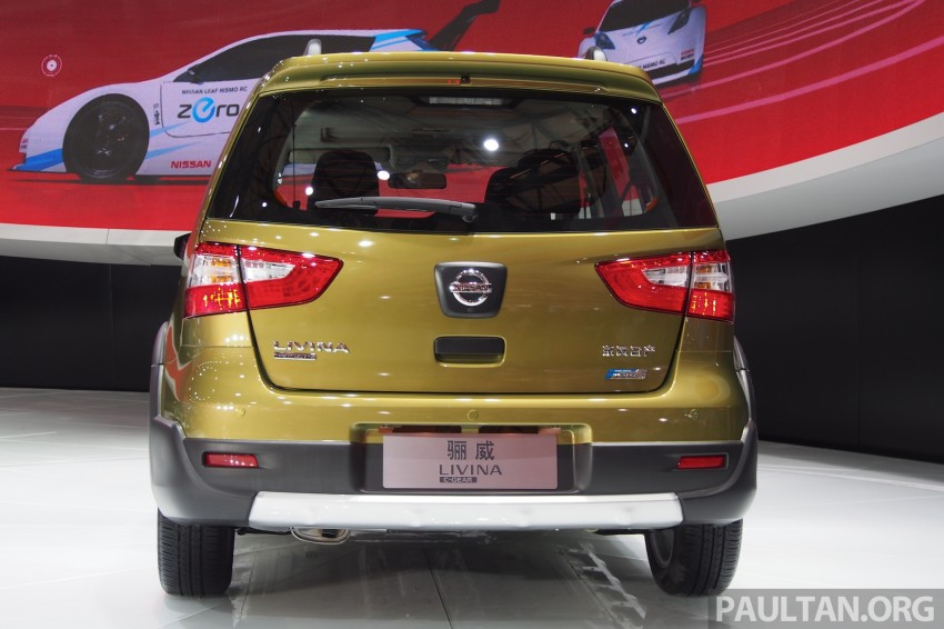 Nissan Livina Facelift – gallery from Auto Shanghai Image #171374