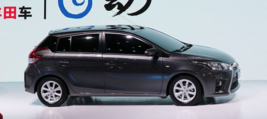 New China-market Toyota Yaris debuts in Shanghai Image #171768