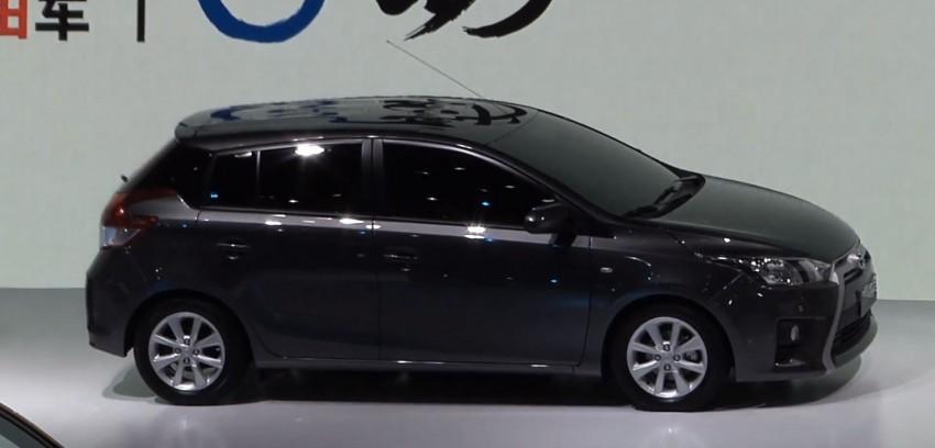 New China-market Toyota Yaris debuts in Shanghai Image #171770