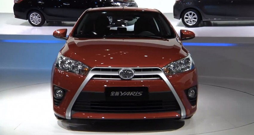 New China-market Toyota Yaris debuts in Shanghai Image #171779