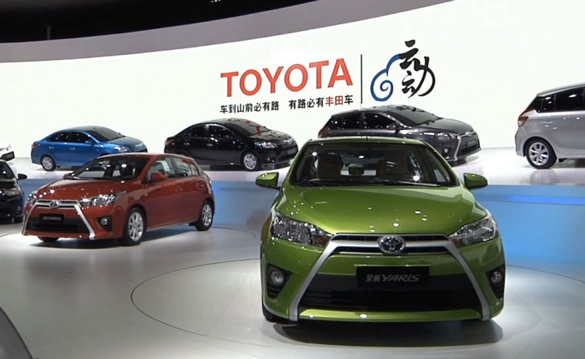 New China Market Toyota Yaris Debuts In Shanghai Paul Tan