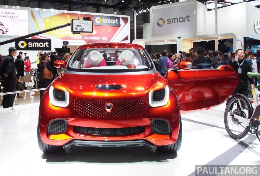 smart forstars concept dazzles at Auto Shanghai Image #171465