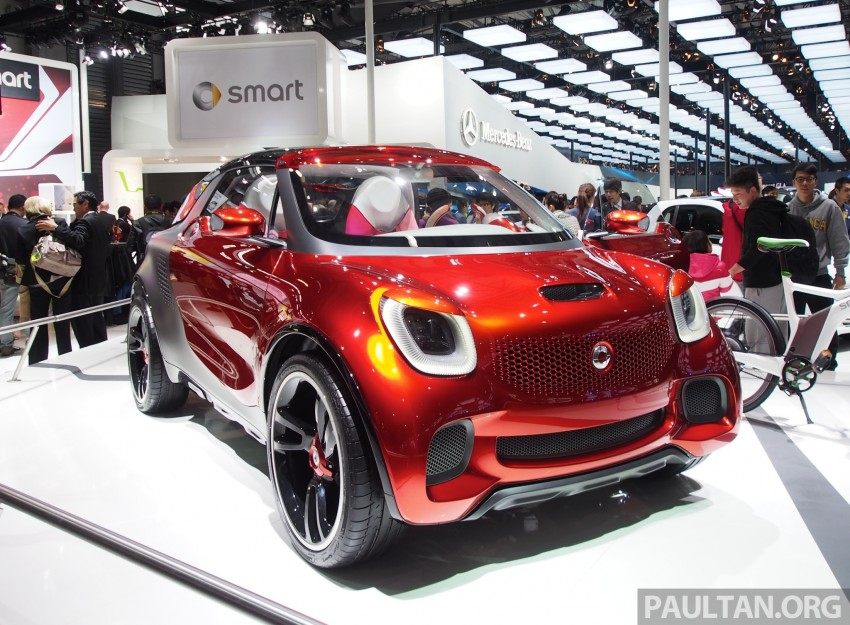 smart forstars concept dazzles at Auto Shanghai Image #171466