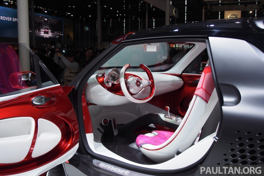 smart forstars concept dazzles at Auto Shanghai Image #171457