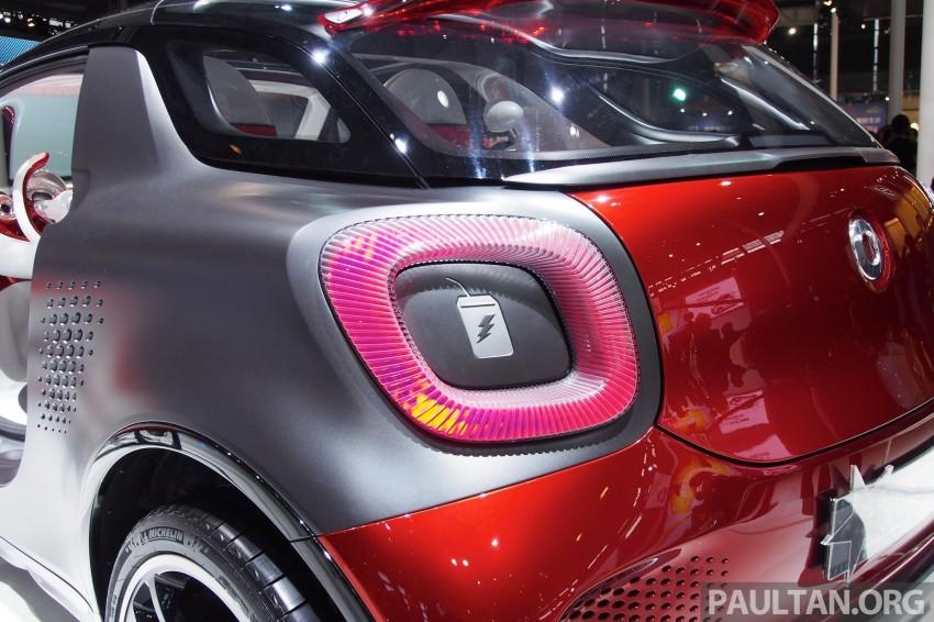 smart forstars concept dazzles at Auto Shanghai Image #171458