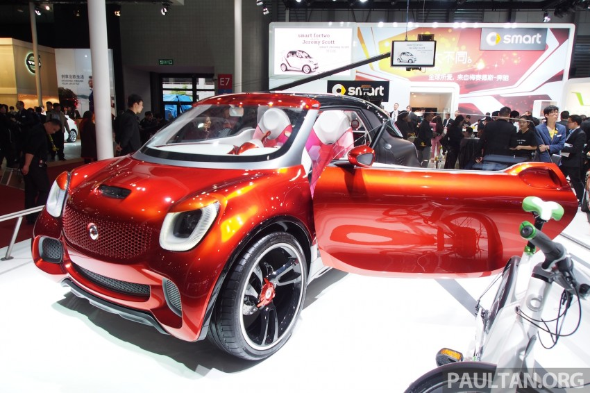 smart forstars concept dazzles at Auto Shanghai Image #171460