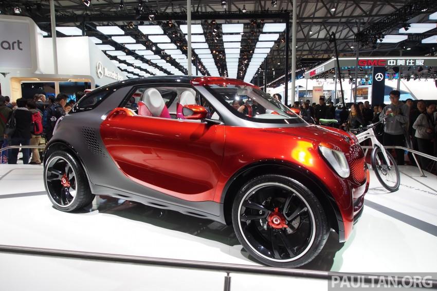 smart forstars concept dazzles at Auto Shanghai Image #171462