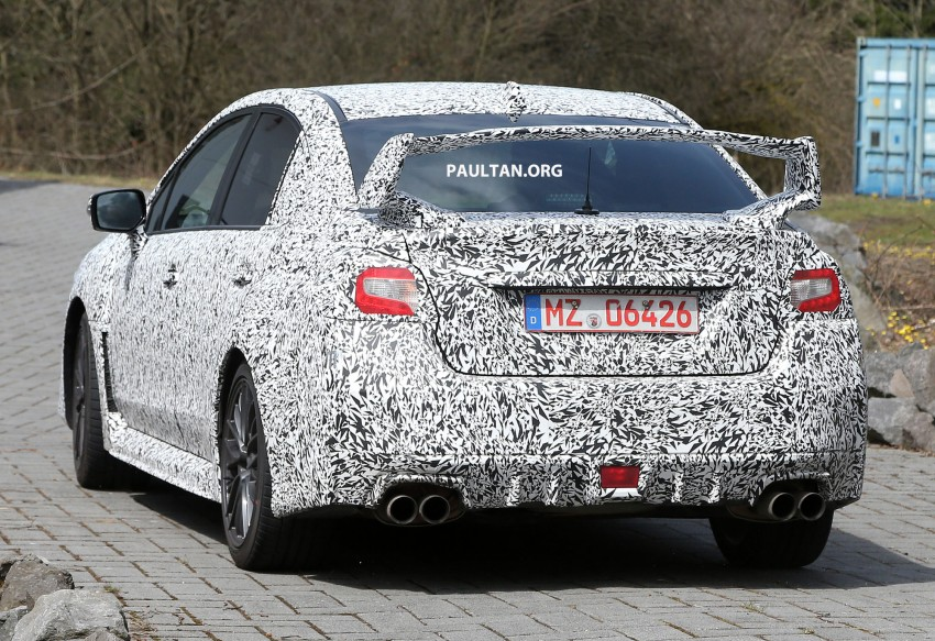 SPYSHOTS: Subaru Impreza WRX STI at the 'Ring Image #168846