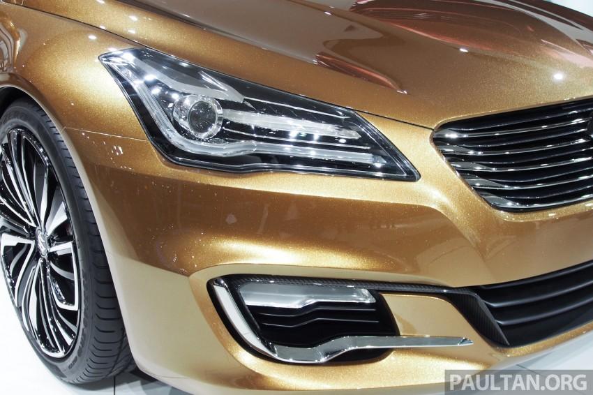 Shanghai 2013 Live: Suzuki Authentics Concept previews upcoming C-segment sedan Image #170115