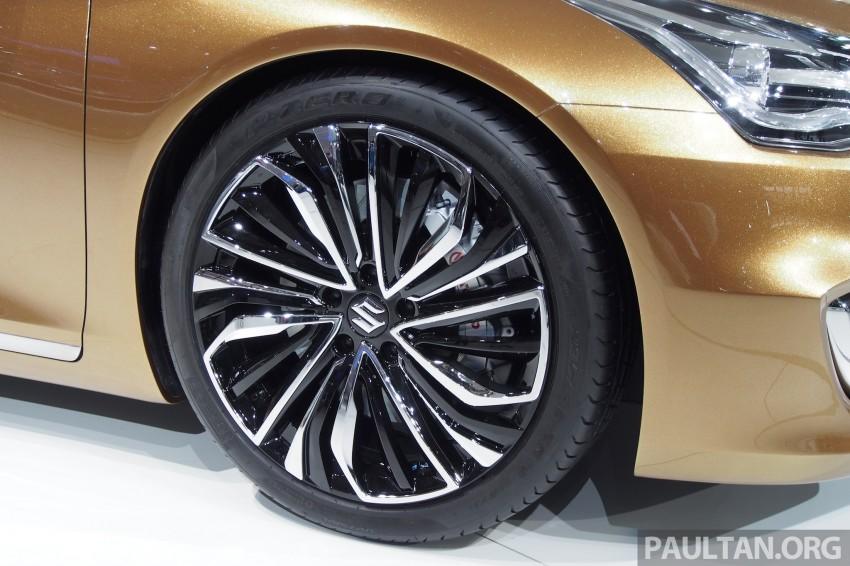 Shanghai 2013 Live: Suzuki Authentics Concept previews upcoming C-segment sedan Image #170117