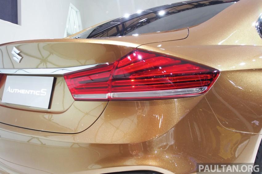 Shanghai 2013 Live: Suzuki Authentics Concept previews upcoming C-segment sedan Image #170116
