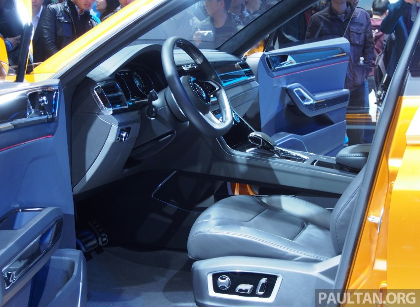 Shanghai 2013 Live: Volkswagen CrossBlue Coupe Image #170488