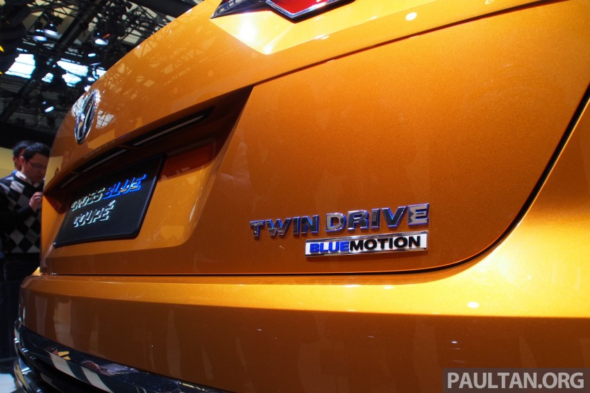 Shanghai 2013 Live: Volkswagen CrossBlue Coupe Image #170480