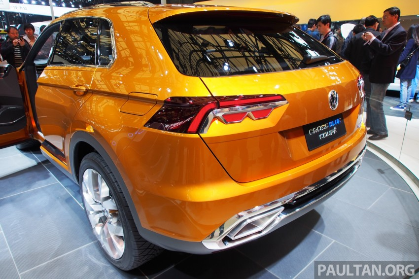 Shanghai 2013 Live: Volkswagen CrossBlue Coupe Image #170482
