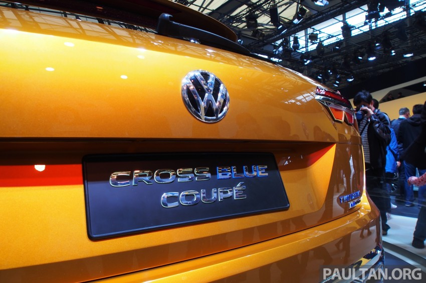 Shanghai 2013 Live: Volkswagen CrossBlue Coupe Image #170484