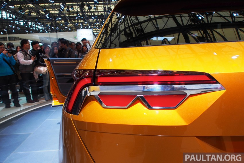 Shanghai 2013 Live: Volkswagen CrossBlue Coupe Image #170485