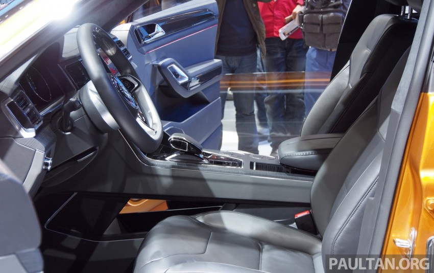 Shanghai 2013 Live: Volkswagen CrossBlue Coupe Image #170486