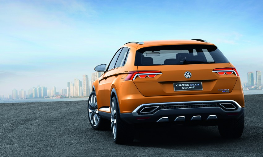 Shanghai 2013 Live: Volkswagen CrossBlue Coupe Image #170137