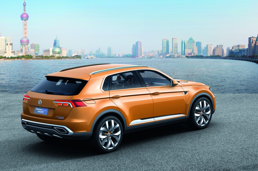 Shanghai 2013 Live: Volkswagen CrossBlue Coupe Image #170138