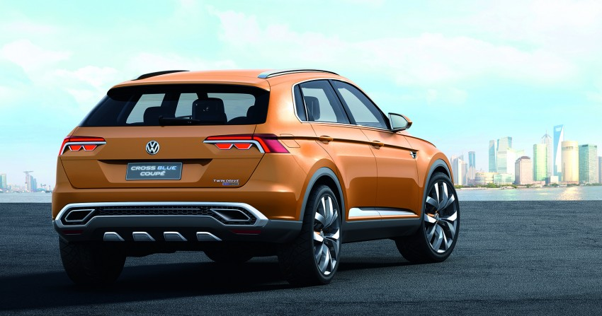 Shanghai 2013 Live: Volkswagen CrossBlue Coupe Image #170139