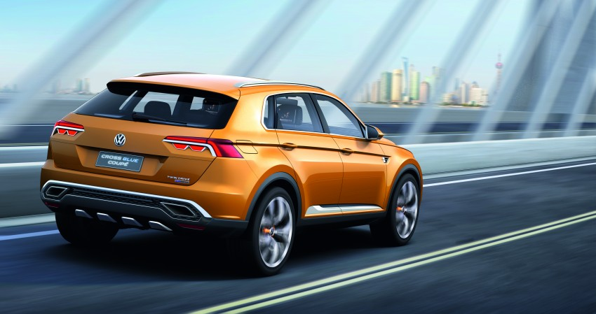 Shanghai 2013 Live: Volkswagen CrossBlue Coupe Image #170140