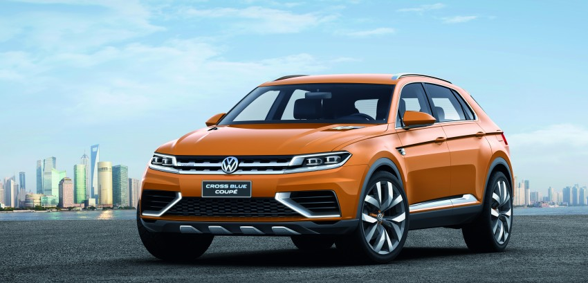 Shanghai 2013 Live: Volkswagen CrossBlue Coupe Image #170141