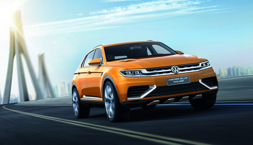 Shanghai 2013 Live: Volkswagen CrossBlue Coupe Image #170142