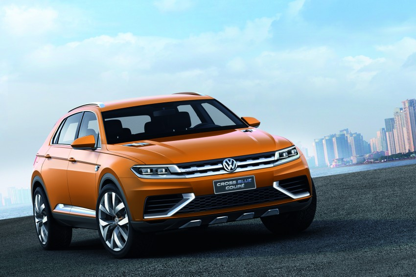 Shanghai 2013 Live: Volkswagen CrossBlue Coupe Image #170143