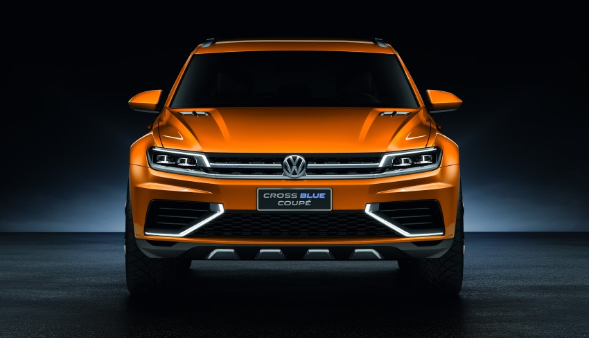 Shanghai 2013 Live: Volkswagen CrossBlue Coupe Image #170144