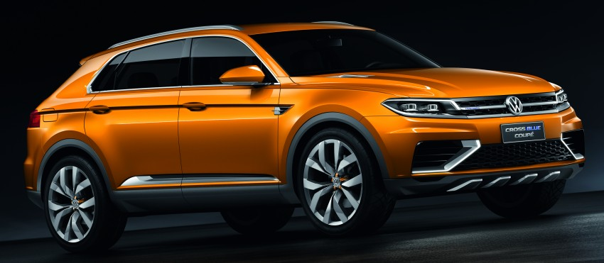 Shanghai 2013 Live: Volkswagen CrossBlue Coupe Image #170145