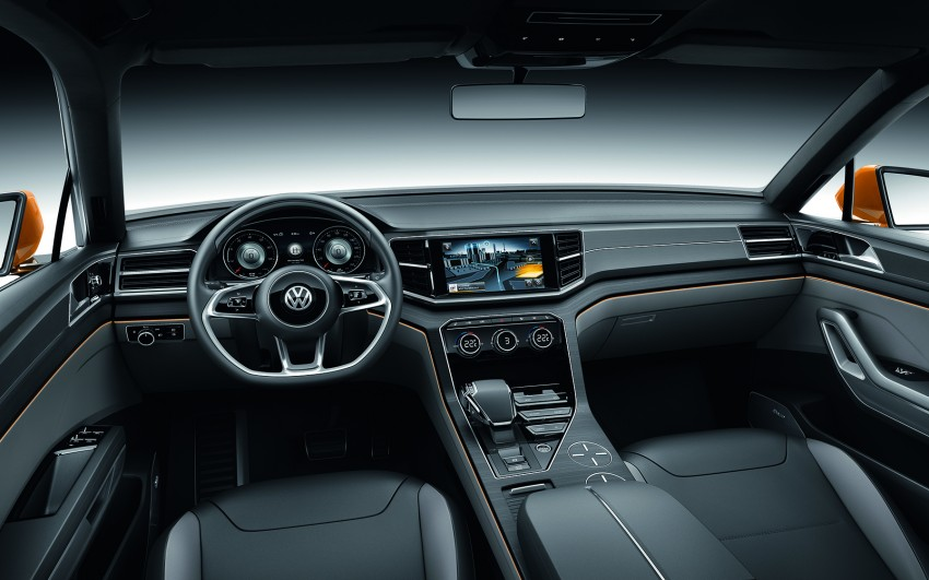 Shanghai 2013 Live: Volkswagen CrossBlue Coupe Image #170159