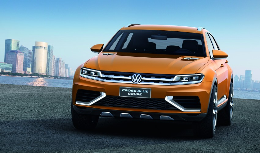 Shanghai 2013 Live: Volkswagen CrossBlue Coupe Image #170161
