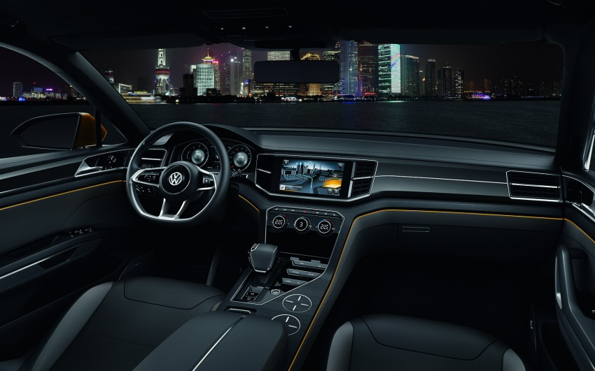 Shanghai 2013 Live: Volkswagen CrossBlue Coupe Image #170162