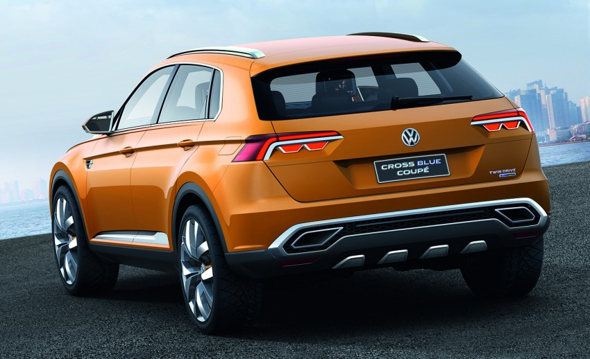 Shanghai 2013 Live: Volkswagen CrossBlue Coupe Image #170163
