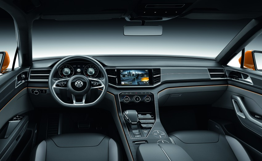 Shanghai 2013 Live: Volkswagen CrossBlue Coupe Image #170164