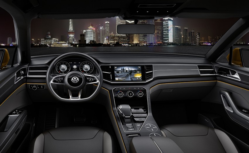 Shanghai 2013 Live: Volkswagen CrossBlue Coupe Image #170165