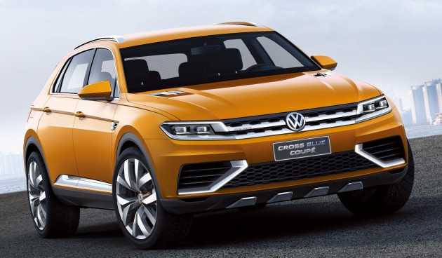 Volkswagen Tiguan Coupe coming in 2017, R in 2018