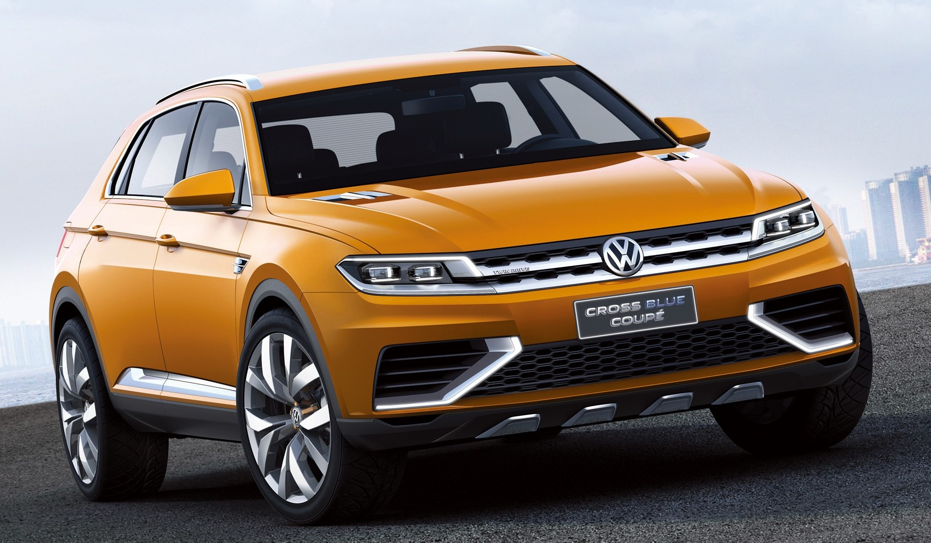 Tiguan Coupe R >> Volkswagen Tiguan Coupe coming in 2017, R in 2018