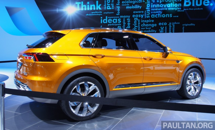 Shanghai 2013 Live: Volkswagen CrossBlue Coupe Image #170038