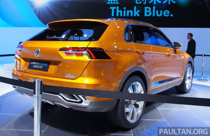Shanghai 2013 Live: Volkswagen CrossBlue Coupe Image #170050